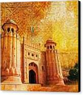 Shahi Qilla Or Royal Fort Canvas Print by Catf