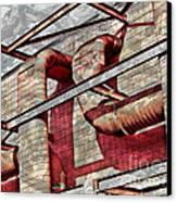 Shai-hulud Caged Canvas Print by MJ Olsen