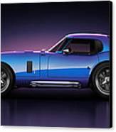 Shelby Daytona - Velocity Canvas Print by Marc Orphanos