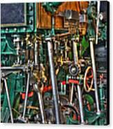 Ship Engine Canvas Print by Heiko Koehrer-Wagner