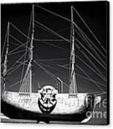 Ship Canvas Print by John Rizzuto