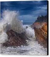 Shore Acre Storm Canvas Print by Darren  White