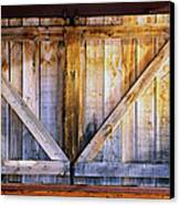 Shuttered Canvas Print by The Forests Edge Photography - Diane Sandoval