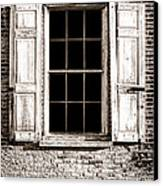 Shutters Canvas Print by Olivier Le Queinec