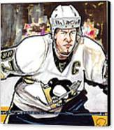 Sidney Crosby Canvas Print by Dave Olsen