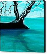 Silent Beauty Canvas Print by Angie Phillips