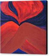 Silent She Emerges Canvas Print by Daina White