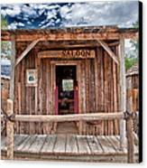 Silver Canyon Saloon Canvas Print by Cat Connor