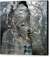 'silver Flight' Canvas Print by Christian Chapman Art
