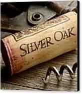 Silver On Silver Canvas Print by Jon Neidert
