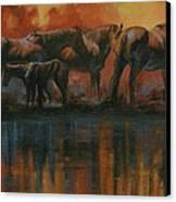 Simmerdim Canvas Print by Mia DeLode