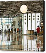 Singapore Changi Airport 02 Canvas Print by Rick Piper Photography