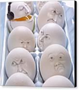 Singing Egg Canvas Print by Diane Diederich