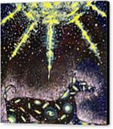 Sirius Listening Canvas Print by Dennis Goodbee