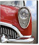 Sitting Pretty - Buick Canvas Print by Mike McGlothlen