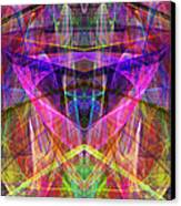 Sixth Sense Ap130511-22-20130616 Square Canvas Print by Wingsdomain Art and Photography