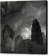 Skyscrapers Canvas Print by Mike Horvath