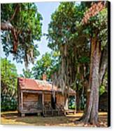 Slave Quarters 2 Canvas Print by Steve Harrington
