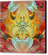 Sleeping Genie Canvas Print by Ian Mitchell
