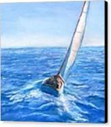 Slip Away Canvas Print by Jack Skinner