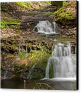 Small Falls At Parfrey's Glen Canvas Print by Jonah  Anderson