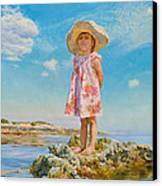 Small Island Canvas Print by Victoria Kharchenko