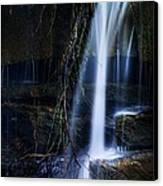 Small Waterfall Canvas Print by Tom Mc Nemar