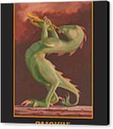 Smokin' Canvas Print by Leonard Filgate