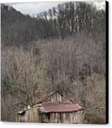 Smoky Mountain Barn 1 Canvas Print by Douglas Barnett