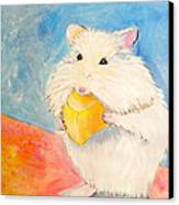Snack Time Canvas Print by Debi Starr