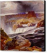Snake River Idaho 1876 Canvas Print by Unknown