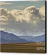 Snowy Rocky Mountains County View Canvas Print by James BO  Insogna