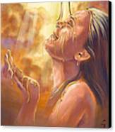 Soaking In Glory Canvas Print by Tamer and Cindy Elsharouni