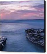 Soft Waters Canvas Print by Peter Tellone
