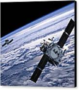 Solar Terrestrial Relations Observatory Satellites Canvas Print by Anonymous