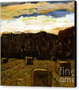 Sold Row By Row Canvas Print by Charlie Spear