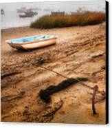 Someday My Ship Will Come In Canvas Print by Bill Wakeley