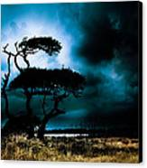 Something Wicked This Way Comes Canvas Print by Shane Holsclaw