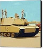 Somewhere Outside Baghdad Canvas Print by Scott Listfield