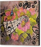 Song Of My Heart And Soul Canvas Print by Meldra Driscoll