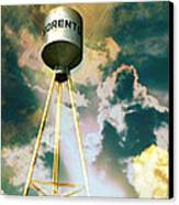 Sorento Illinois Tower Canvas Print by Marty Koch