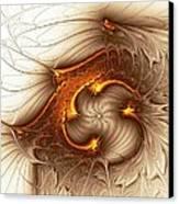 Souls Of The Dragons Canvas Print by Anastasiya Malakhova