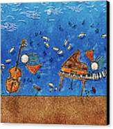 Sounds Blown In The Wind Canvas Print by Gianfranco Weiss