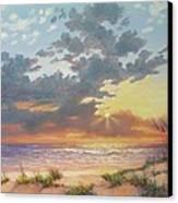 South Padre Island Splendor Canvas Print by Carol Reynolds