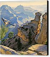 South Rim Morning Canvas Print by Paul Krapf
