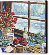 Spice Table By Prankearts Canvas Print by Richard T Pranke