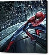 Spider Man 210 Canvas Print by Movie Poster Prints