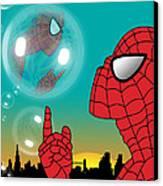 Spiderman 4 Canvas Print by Mark Ashkenazi