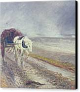 Spindrift Canvas Print by John MacWhirter