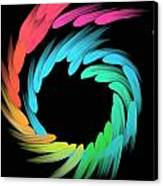 Spiralbow Canvas Print by Michael Jordan